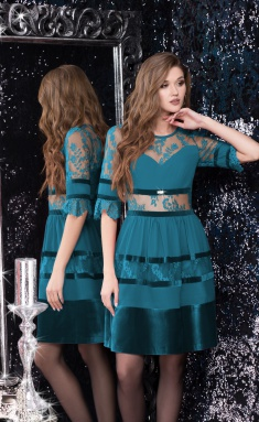 Dress LeNata 11980 izumr