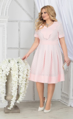 Dress Ninele 5825 pudr + pudr