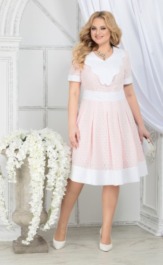 Dress Ninele 5825 pudr