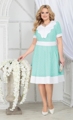 Dress Ninele 5825 svetlo-zel