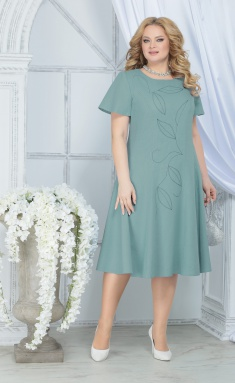 Dress Ninele 5837 svetlo-zel