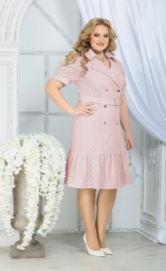 Dress Ninele 5838 pudr