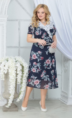 Dress Ninele 7319 sin + piony