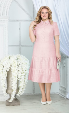 Dress Ninele 7323 pudr