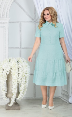 Dress Ninele 7323 svetlo-zel